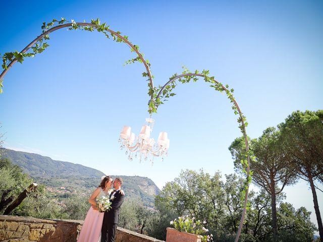 Il matrimonio di Giulio e Elisa a Pieve a Nievole, Pistoia 84