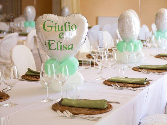 Il matrimonio di Giulio e Elisa a Pieve a Nievole, Pistoia 92
