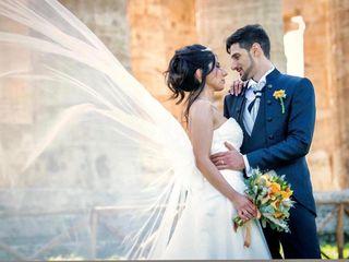 Le nozze di Antonella e Beniamino
