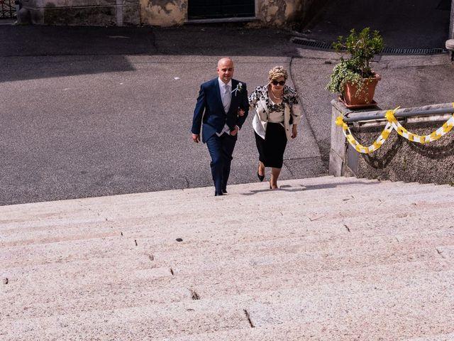 Il matrimonio di Sergio e Sabrina a Besozzo, Varese 27