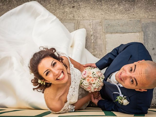 Il matrimonio di Sergio e Sabrina a Besozzo, Varese 36