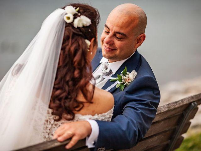Il matrimonio di Sergio e Sabrina a Besozzo, Varese 37