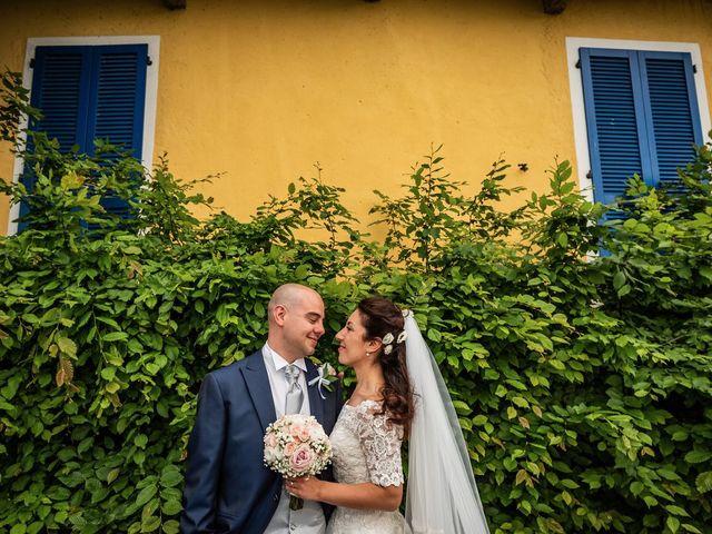 Il matrimonio di Sergio e Sabrina a Besozzo, Varese 38
