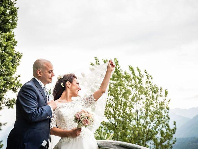 Il matrimonio di Sergio e Sabrina a Besozzo, Varese 40