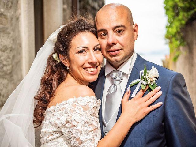 Il matrimonio di Sergio e Sabrina a Besozzo, Varese 43