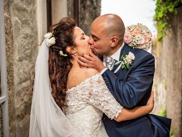Il matrimonio di Sergio e Sabrina a Besozzo, Varese 44