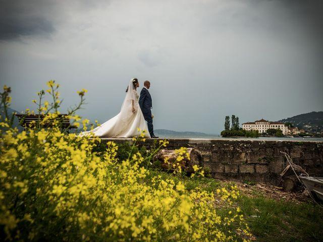Il matrimonio di Sergio e Sabrina a Besozzo, Varese 48