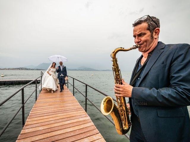 Il matrimonio di Sergio e Sabrina a Besozzo, Varese 50