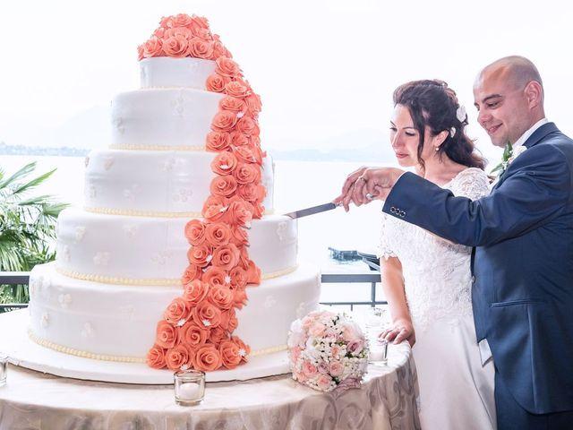 Il matrimonio di Sergio e Sabrina a Besozzo, Varese 55