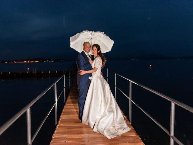 Il matrimonio di Sergio e Sabrina a Besozzo, Varese 67