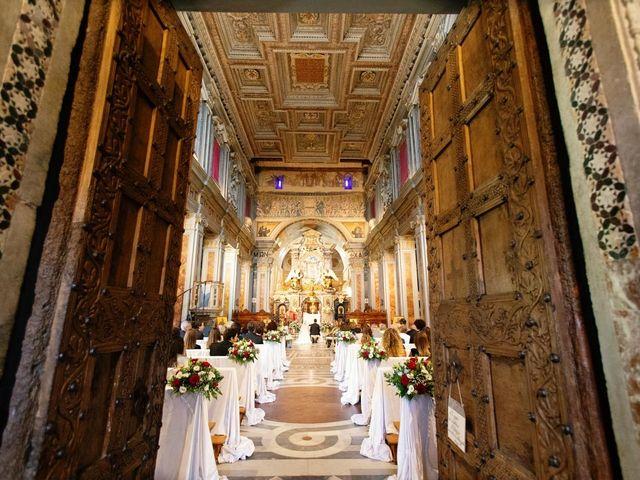 Il matrimonio di Federico e Silvia a Grottaferrata, Roma 1