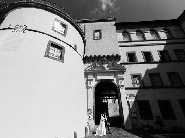 Il matrimonio di Federico e Silvia a Grottaferrata, Roma 47