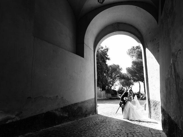 Il matrimonio di Federico e Silvia a Grottaferrata, Roma 54