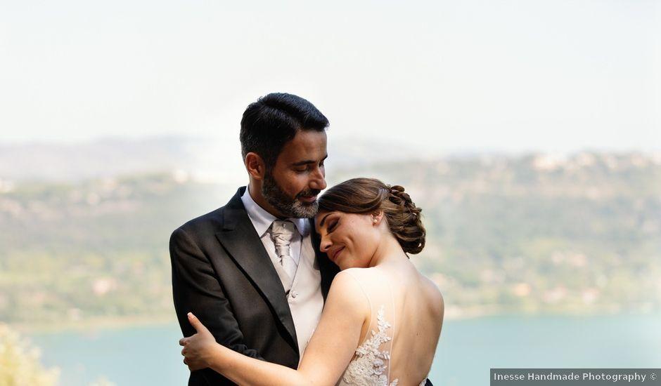 Il matrimonio di Federico e Silvia a Grottaferrata, Roma