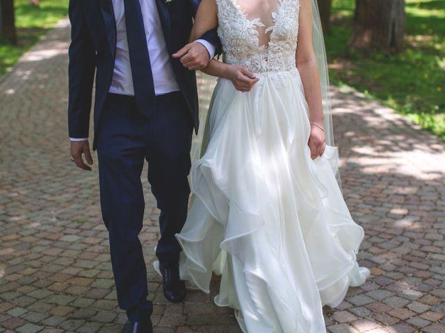 Il matrimonio di Luca e Genny a Cavalese, Trento 3