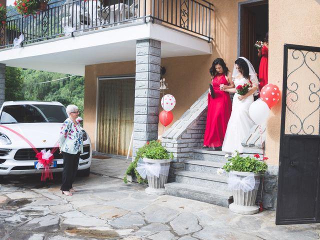Il matrimonio di Davide e Sarah a Villar Perosa, Torino 17