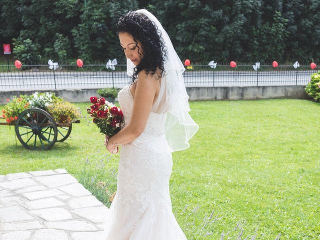 Il matrimonio di Davide e Sarah a Villar Perosa, Torino 18