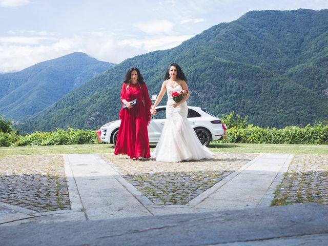 Il matrimonio di Davide e Sarah a Villar Perosa, Torino 27