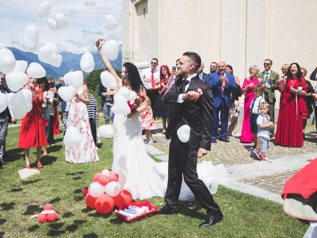 Il matrimonio di Davide e Sarah a Villar Perosa, Torino 37