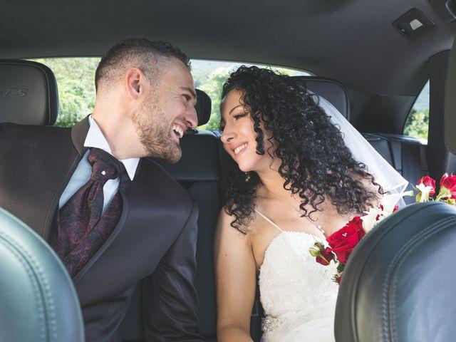 Il matrimonio di Davide e Sarah a Villar Perosa, Torino 41