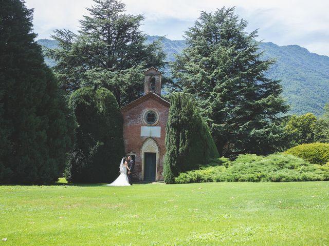 Il matrimonio di Davide e Sarah a Villar Perosa, Torino 42