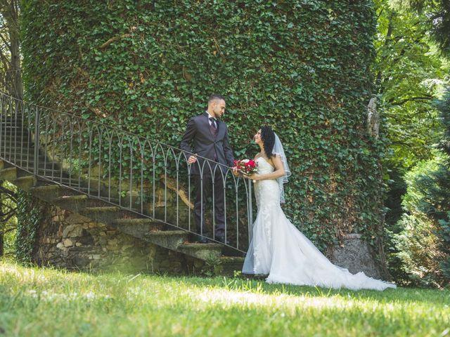 Il matrimonio di Davide e Sarah a Villar Perosa, Torino 43