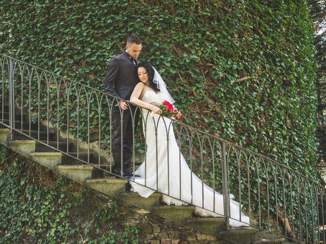 Il matrimonio di Davide e Sarah a Villar Perosa, Torino 44