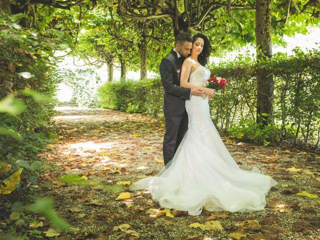 Il matrimonio di Davide e Sarah a Villar Perosa, Torino 1