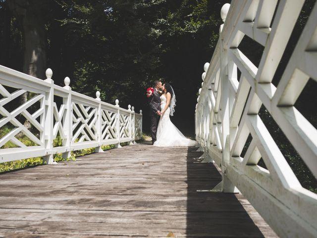 Il matrimonio di Davide e Sarah a Villar Perosa, Torino 2