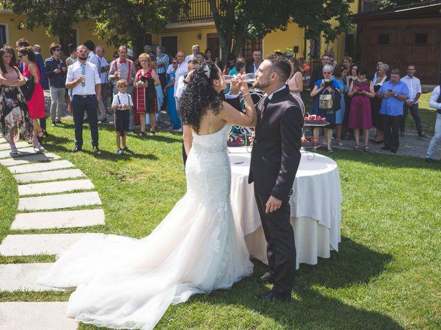 Il matrimonio di Davide e Sarah a Villar Perosa, Torino 51