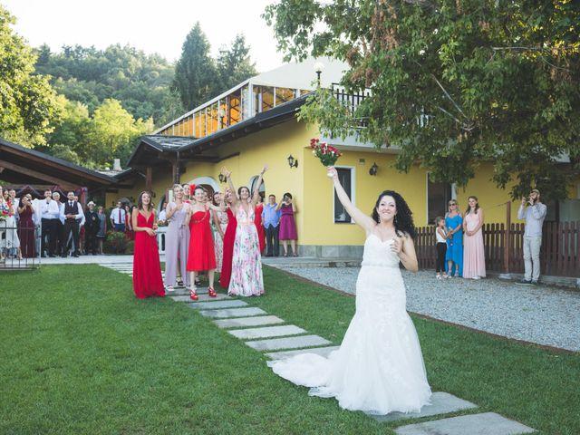 Il matrimonio di Davide e Sarah a Villar Perosa, Torino 56