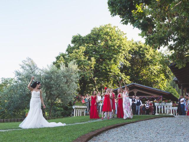 Il matrimonio di Davide e Sarah a Villar Perosa, Torino 57