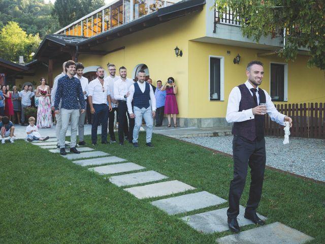 Il matrimonio di Davide e Sarah a Villar Perosa, Torino 58