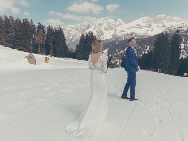 Il matrimonio di Alexander e Emelie a Pinzolo, Trento 31