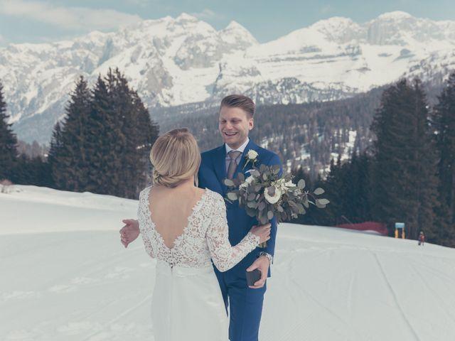 Il matrimonio di Alexander e Emelie a Pinzolo, Trento 32