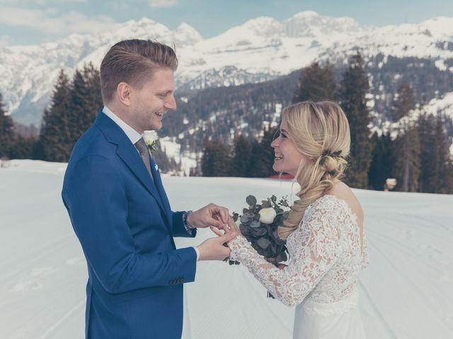 Il matrimonio di Alexander e Emelie a Pinzolo, Trento 34
