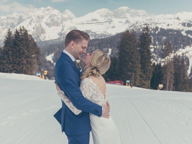 Il matrimonio di Alexander e Emelie a Pinzolo, Trento 35