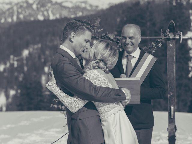 Il matrimonio di Alexander e Emelie a Pinzolo, Trento 58