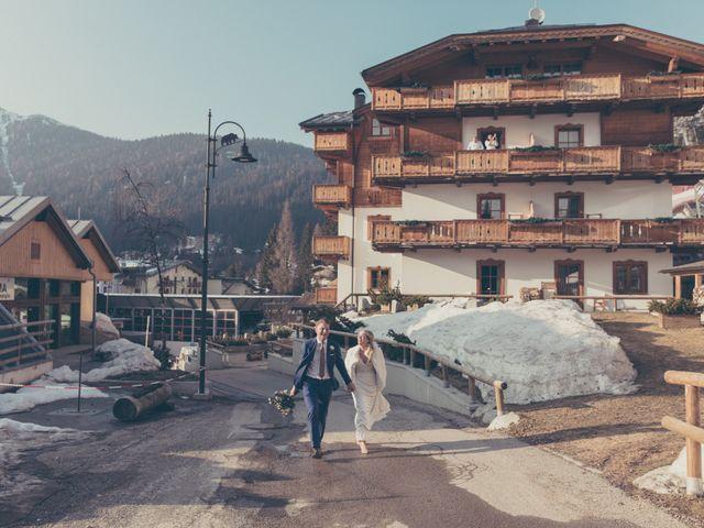 Il matrimonio di Alexander e Emelie a Pinzolo, Trento 67