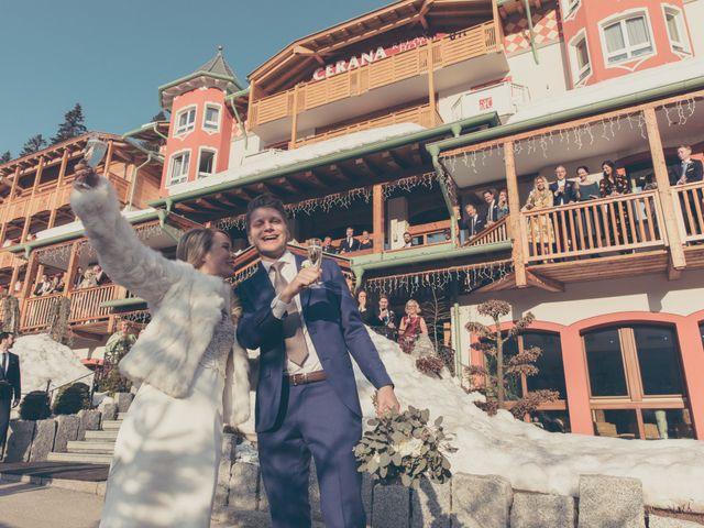 Il matrimonio di Alexander e Emelie a Pinzolo, Trento 69