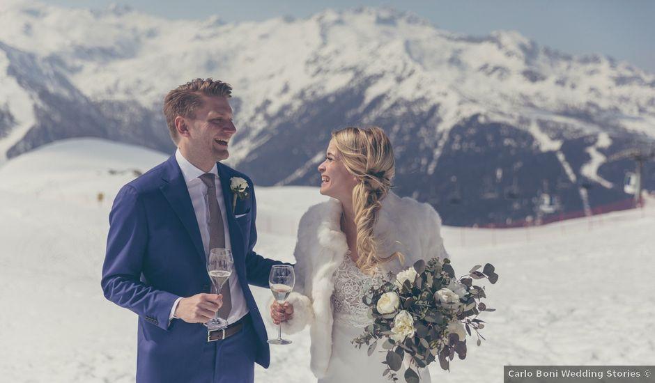 Il matrimonio di Alexander e Emelie a Pinzolo, Trento