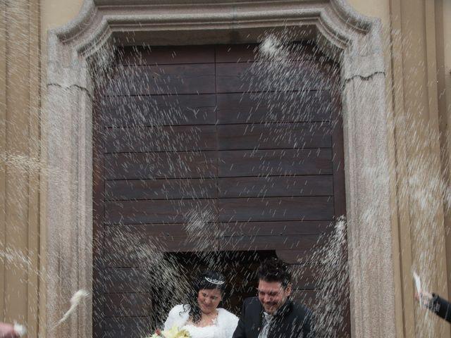 Il matrimonio di Marco e Giada a Sannazzaro de' Burgondi, Pavia 16