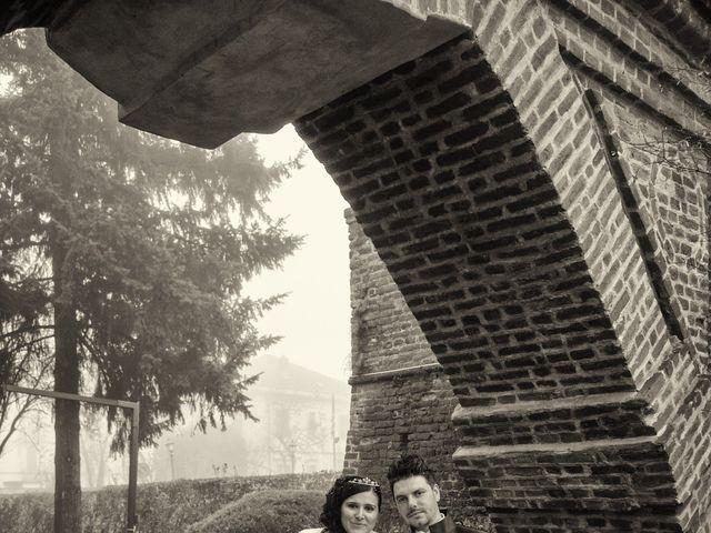Il matrimonio di Marco e Giada a Sannazzaro de' Burgondi, Pavia 20