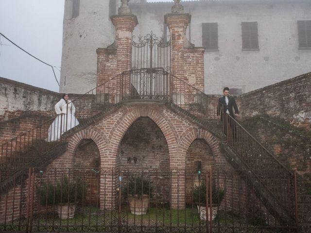 Il matrimonio di Marco e Giada a Sannazzaro de' Burgondi, Pavia 26