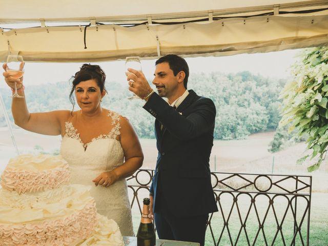 Il matrimonio di Emanuele e Lisa a Lu, Alessandria 55