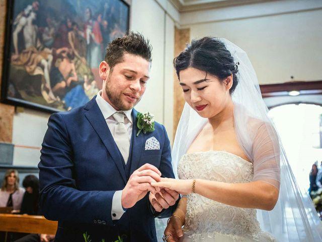 Il matrimonio di Jonathan e Yvonne a Lecco, Lecco 19