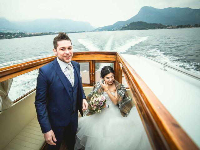 Il matrimonio di Jonathan e Yvonne a Lecco, Lecco 37