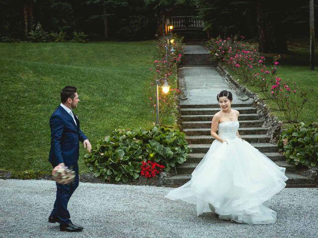 Il matrimonio di Jonathan e Yvonne a Lecco, Lecco 49