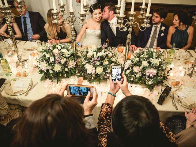 Il matrimonio di Jonathan e Yvonne a Lecco, Lecco 46