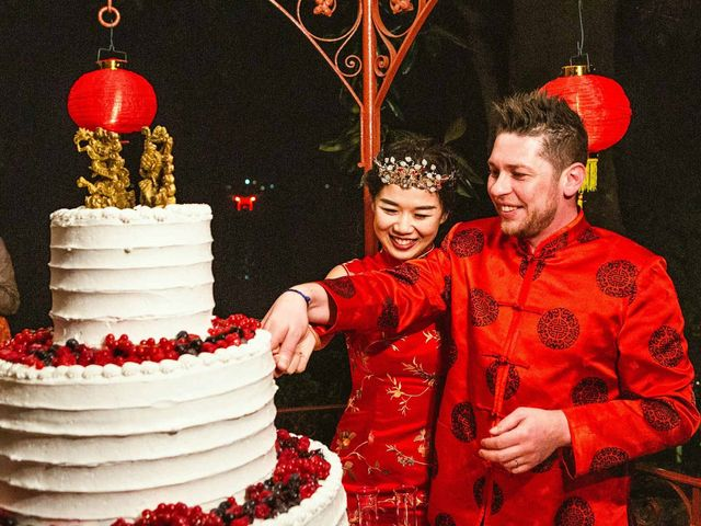Il matrimonio di Jonathan e Yvonne a Lecco, Lecco 44